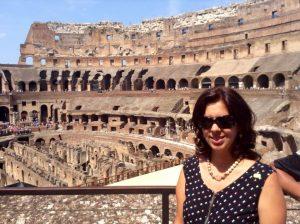 Coliseo por dentro Roma