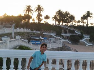 Joel en Santander