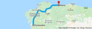 de Pontevedra a Navia