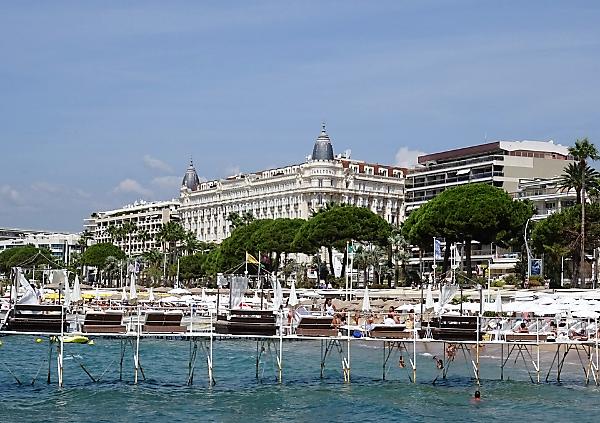 Cannes en autocaravana