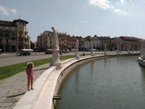 Prato della Valle en Padova