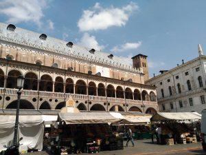 Piazza della Erbe en Padua