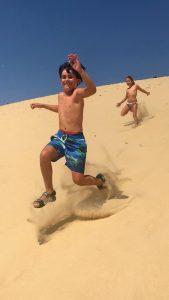 bajando la duna du Pilat