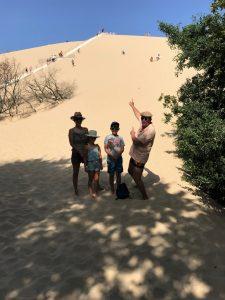 subida a la duna de Pilat