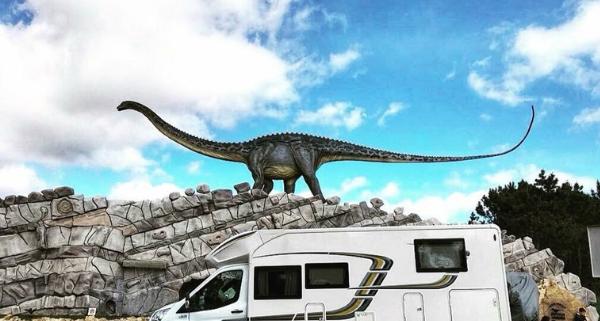 visita al Dino parque de Lourinhá