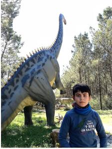 Dinheirosaurus en Parque de Lourinhâ