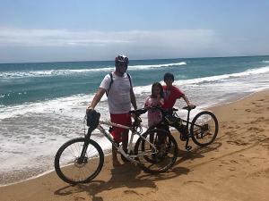 Ir en bici a la playa