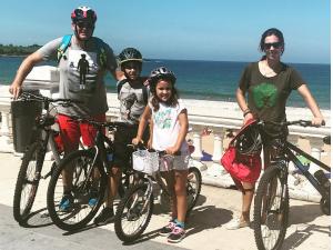 Playa de Santander en bici