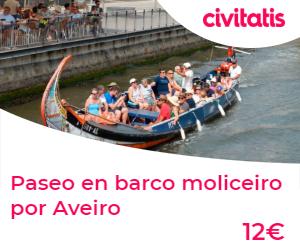 paseo en barco por Aveiro