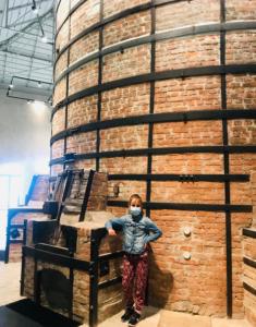 Horno fábrica porcelana Vista Alegre